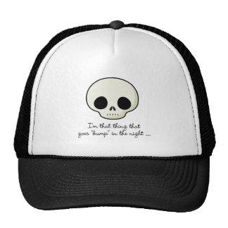 Bump In The Night Skull Trucker Hat