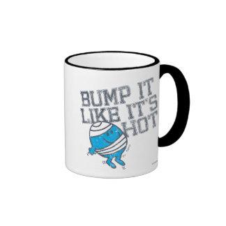 Bump It Like It's Hot Version 4 Ringer Coffee Mug