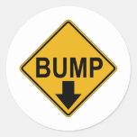 Bump Maternity Classic Round Sticker