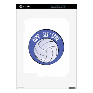 Bump Set Spike Decal For The iPad 2