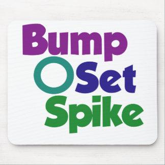 Bump Set Spike Mouse Pad