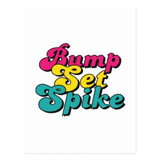 Bump Set Spike! Postcard
