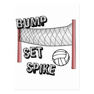 Bump, Set, Spike Postcard