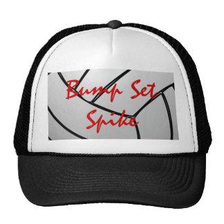 Bump Set Spike Volleyball Hats
