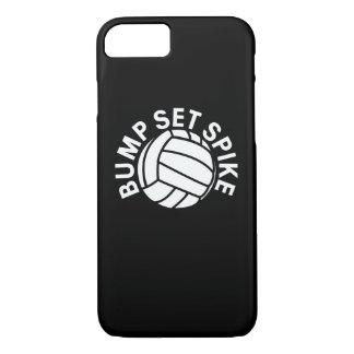Bump set spike volleyball team iPhone 7 case