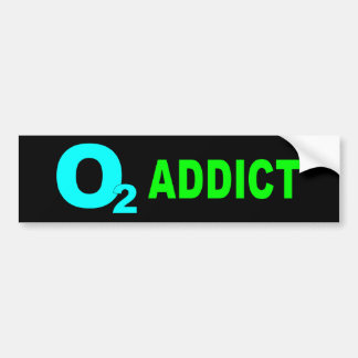BUMPER 02 addict2 Car Bumper Sticker