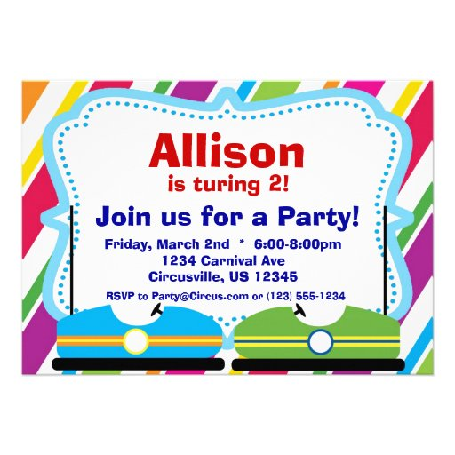 Carnival Birthday Party Invitations is the best ideas you have to choose for invitation example