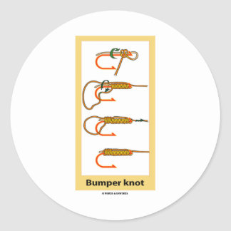 Bumper Knot Round Stickers