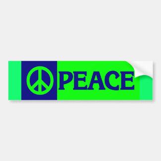 BUMPER peace3 Bumper Sticker
