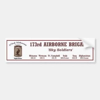 Bumper.Sticker - 173rd Airborne Brigade Car Bumper Sticker