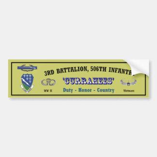 Bumper.Sticker_3-506th.Vietnam Pegatina Para Auto
