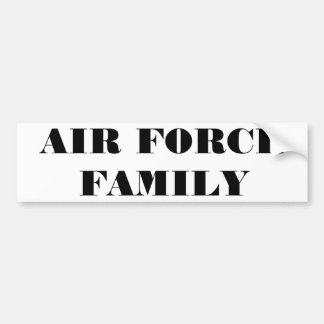 Bumper Sticker Air Force Family