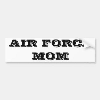 Bumper Sticker Air Force Mom Car Bumper Sticker