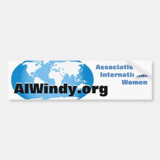 Bumper Sticker-Association of International Women Bumper Sticker