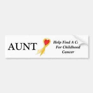 Bumper Sticker Aunt