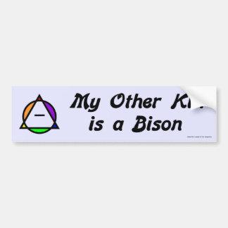Bumper Sticker - Bison