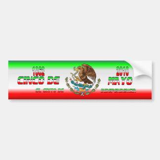 Bumper-Sticker-Cinco-de-Mayo-Set-3-FLAG Etiqueta De Parachoque