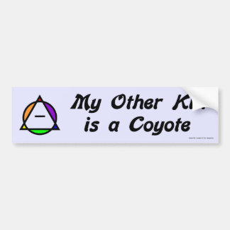 Bumper Sticker - Coyote