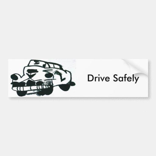 Bumper Sticker Drive Safely