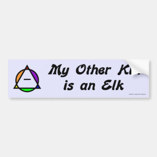 Bumper Sticker -  Elk