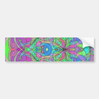 Bumper Sticker Ethnic Style
