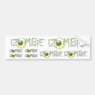 bumper sticker eye iZOMBiE eye ZOMBiE