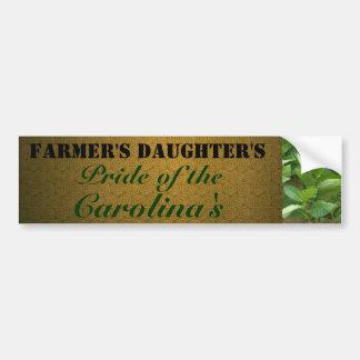 Bumper Sticker: Farmer's Daughter's Bumper Sticker