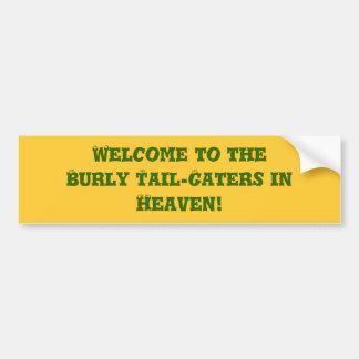 Bumper Sticker for Avid Fan!