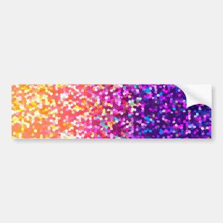 Bumper Sticker Glitter Graphic Car Bumper Sticker