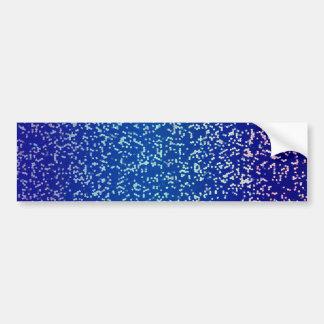 Bumper Sticker Glitter Graphic Background