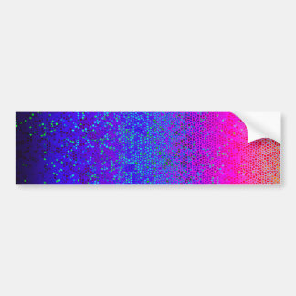 Bumper Sticker Glitter Star Dust
