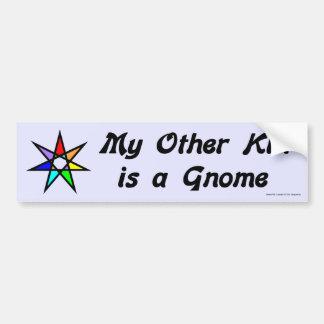 Bumper Sticker -  Gnome