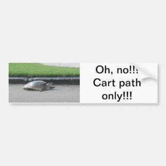 Bumper Sticker/Golf, Sports, Funny Bumper Sticker