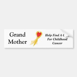 Bumper Sticker Grandmother