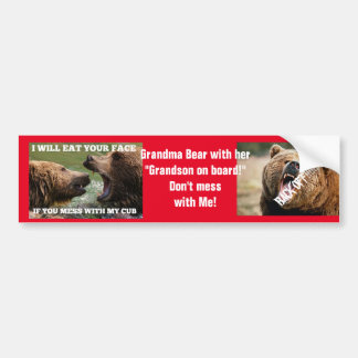 Bumper Sticker * Great gift idea