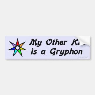 Bumper Sticker - Gryphon