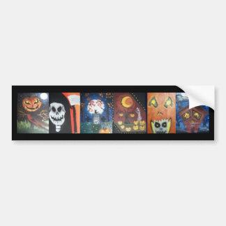 Bumper Sticker (Halloween Paintings)