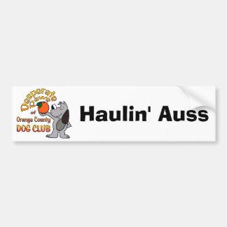 Bumper Sticker:  Haulin' Auss Bumper Sticker