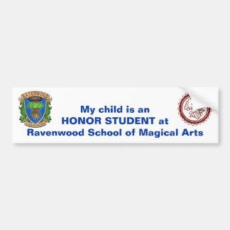 Bumper Sticker - Honor Student