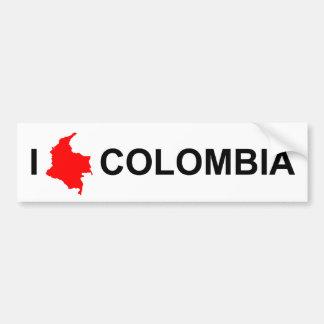 Bumper sticker - I Love Colombia