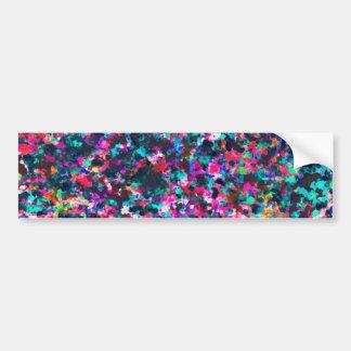Bumper Sticker Informel Art Abstract
