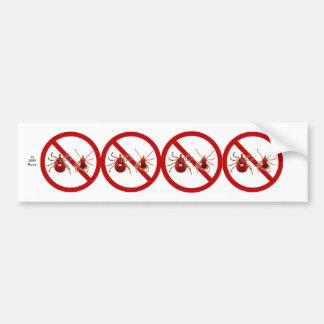 Bumper Sticker, Lyme Disease Awareness (White) Bumper Sticker