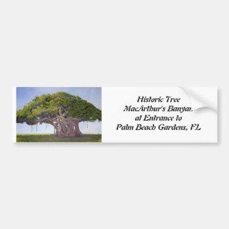 Bumper Sticker - MacArthur's Banyan Car Bumper Sticker