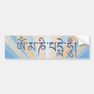 (BUMPER) STICKER mantra Om Mani Padme Hum