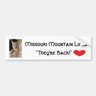 Bumper Sticker-Missouri Mountian Lions
