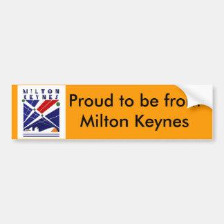 Bumper sticker MK