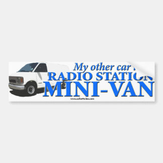 BUMPER STICKER - My Other Car Is...