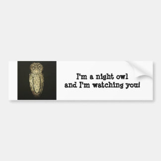 Bumper Sticker - Night Owl