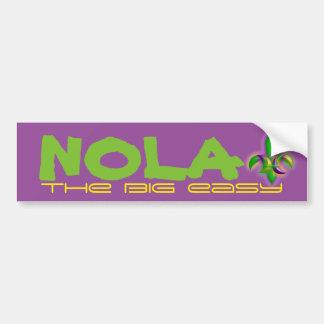 Bumper Sticker NOLA New Orleans The Big Easy
