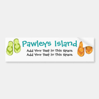 Bumper Sticker - Pawleys Island by SRF Car Bumper Sticker